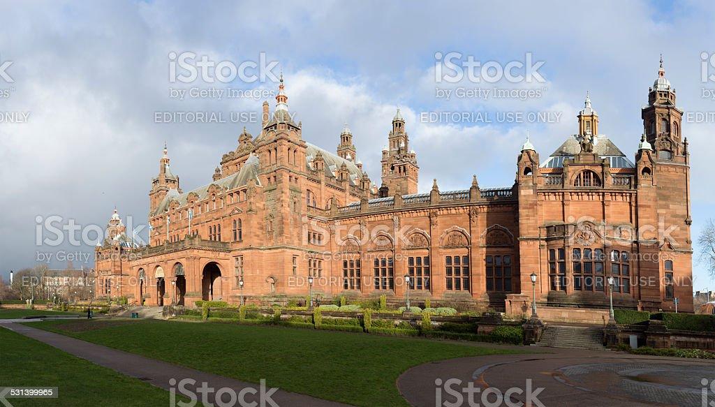 Kelvingrove Museum and Gallery, Glasgow stock photo
