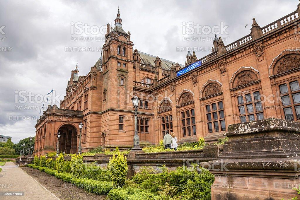 Kelvingrove Museum and Gallery stock photo