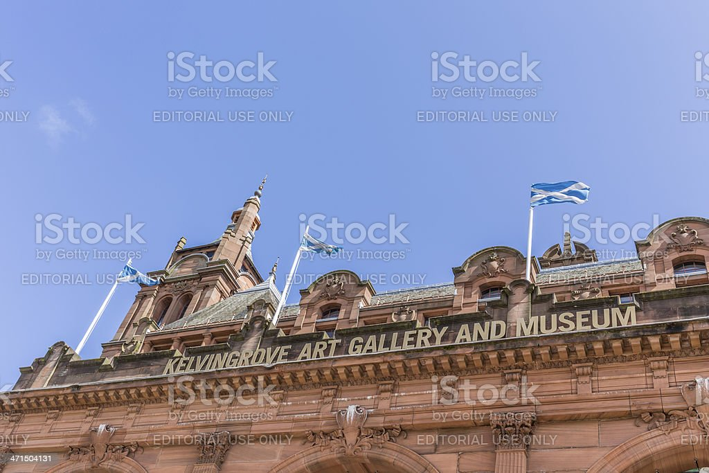 Kelvingrove Museum and Gallery royalty-free stock photo