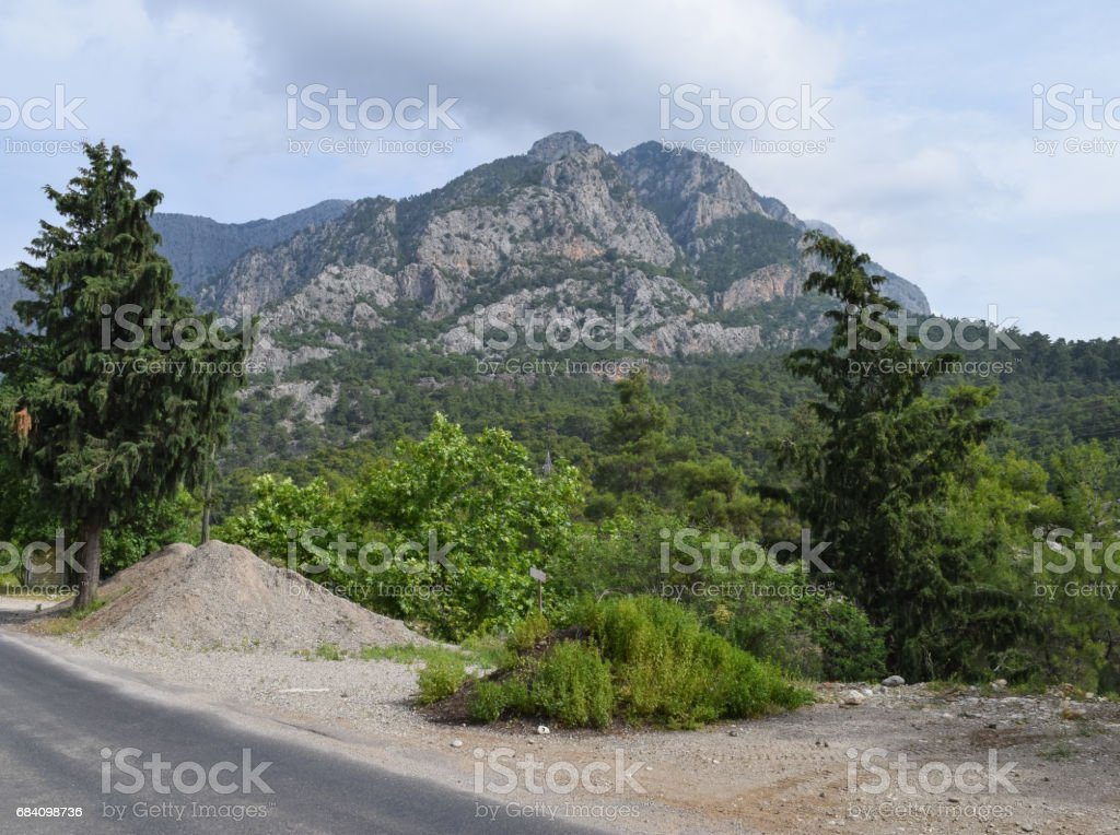 Kemer canyon. Olympos Beydaglari Sahil Milli Parki. Nature of Turkey stock photo