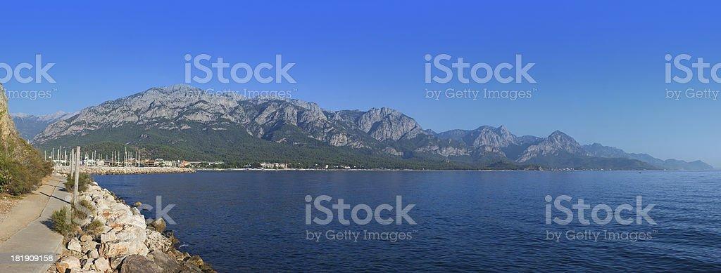 Kemer marina royalty-free stock photo