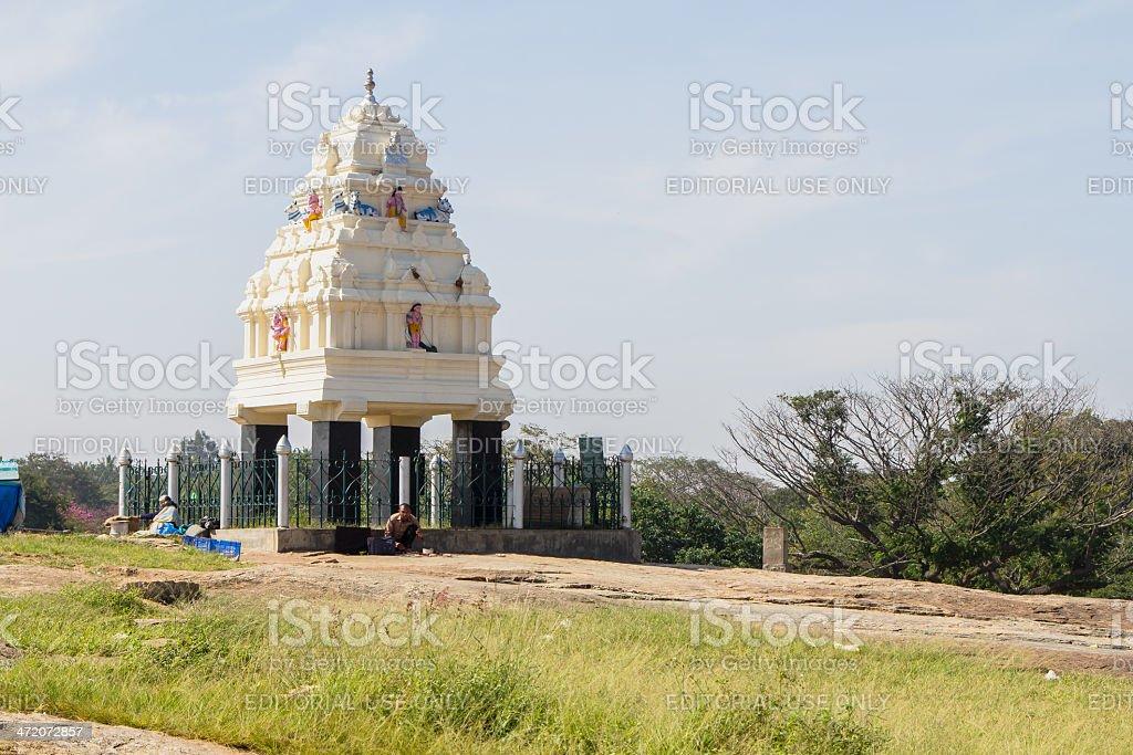 Kempegowda tower at Lalbagh, Bangalore, India stock photo