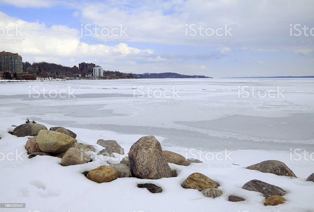 Kempenfelt Bay stock photo