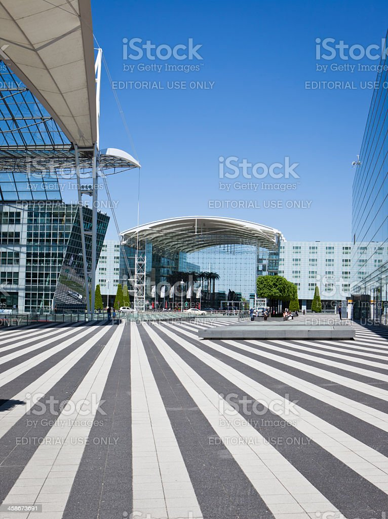 Kempinski Airport Hotel, Munich stock photo