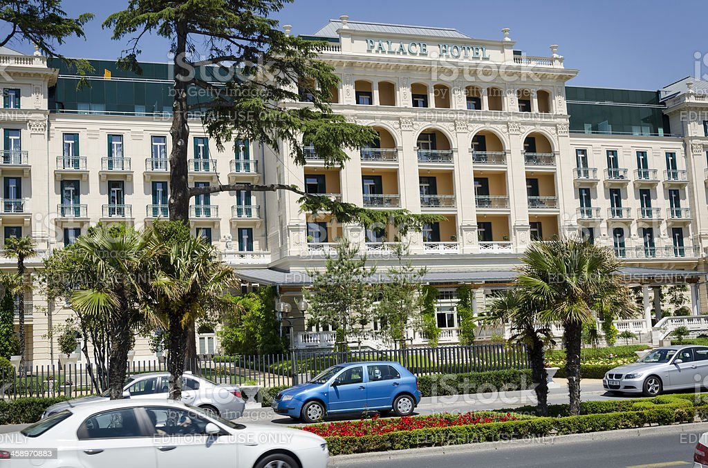 Kempinski Palace Hotel in Portoroz Slovenia Europe stock photo