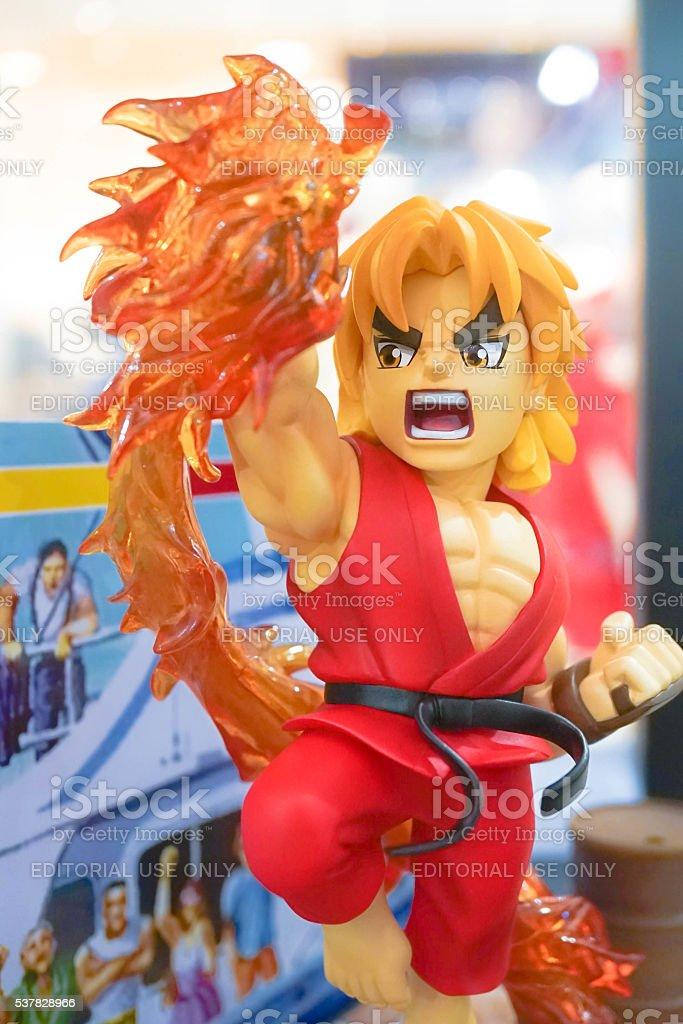 Ken Character Mascot stock photo