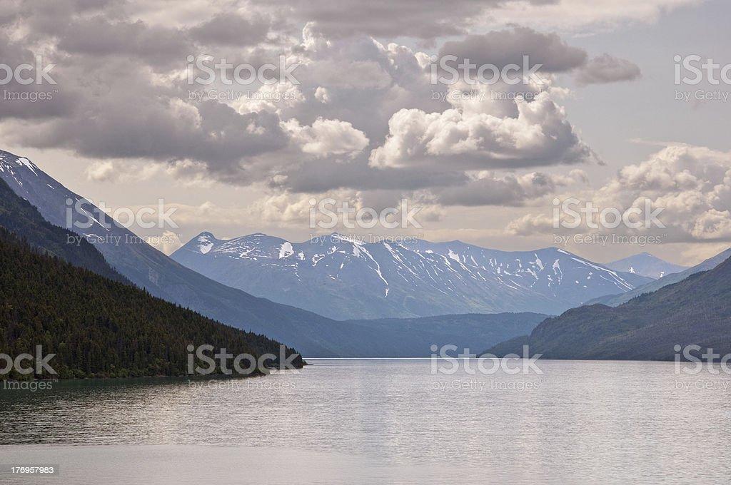 Kenai Lake stock photo
