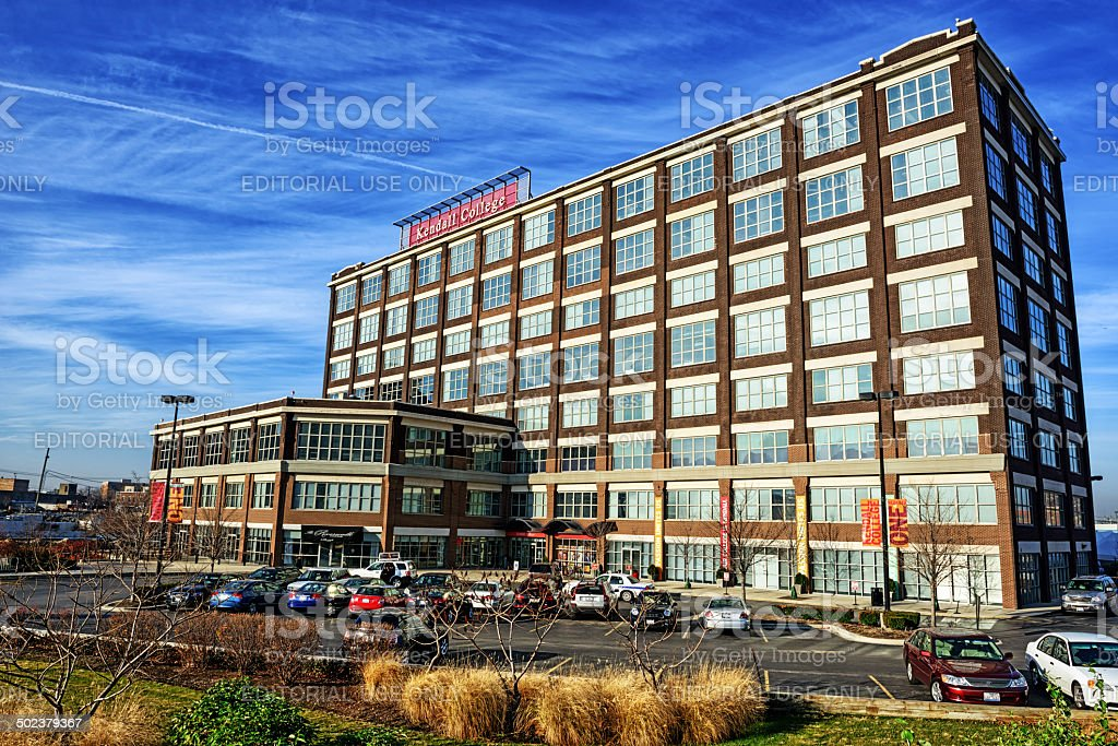 Kendall College,  Goose Island, Chicago stock photo