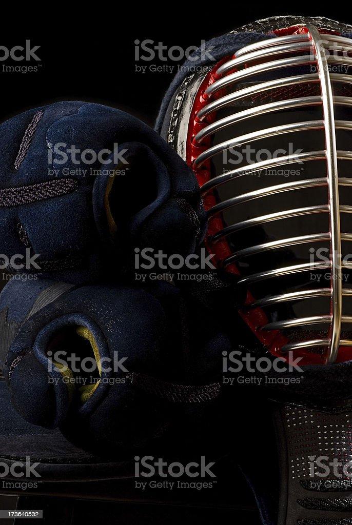 Kendo Equipment stock photo