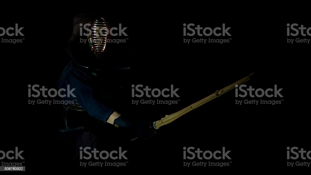Kendo Warrior stock photo