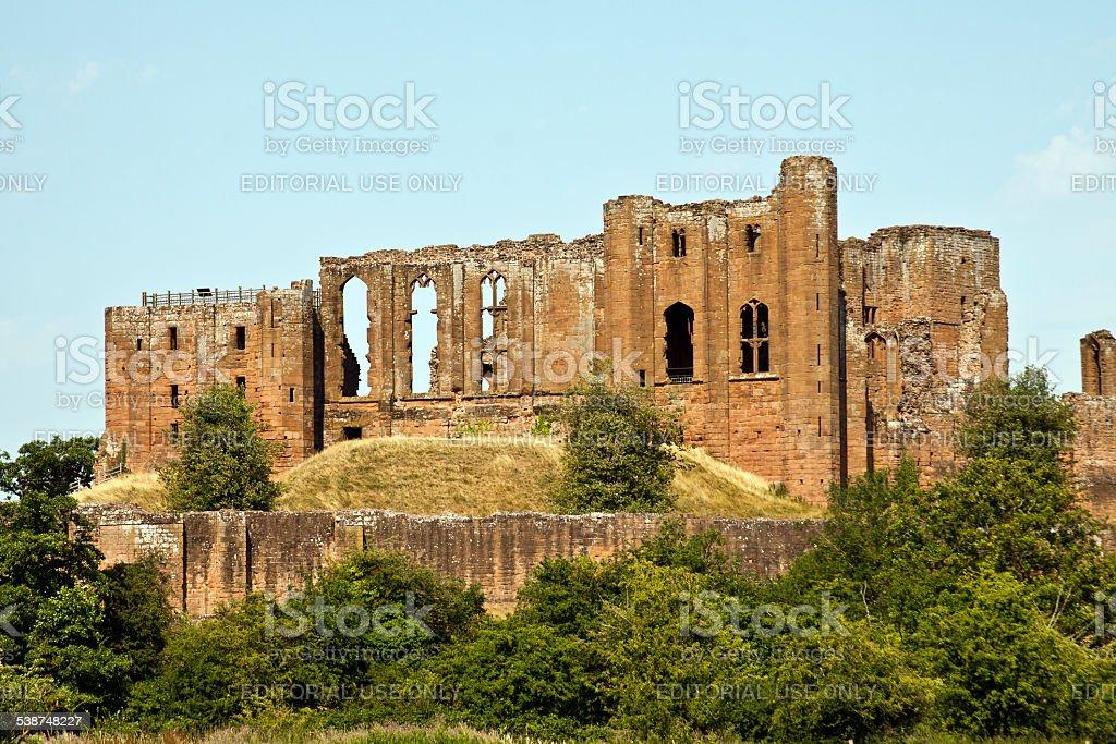 Kenilworth Castle, Kenilworth, Warwickshire, England, UK, stock photo