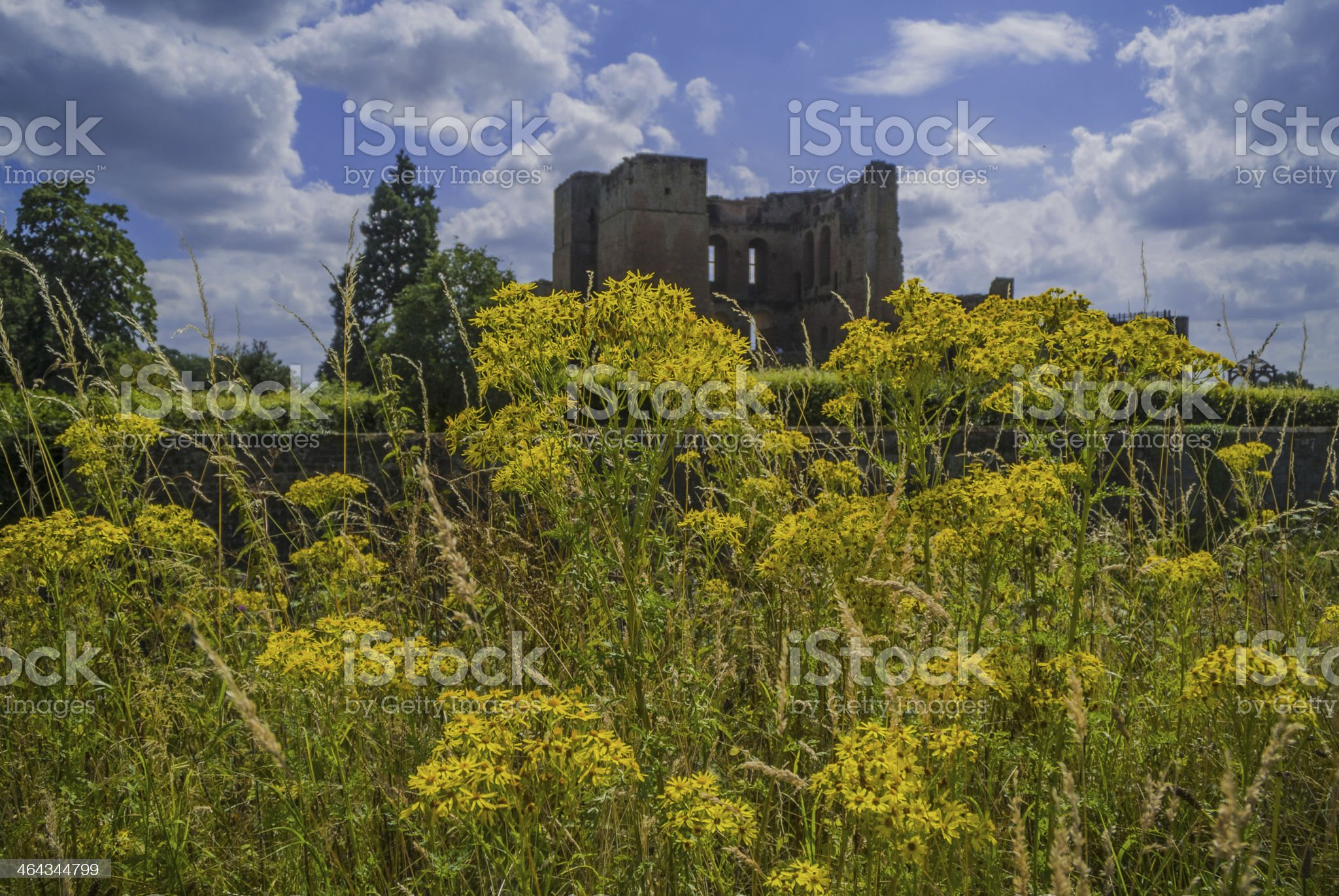 kenilworth castle royalty-free stock photo
