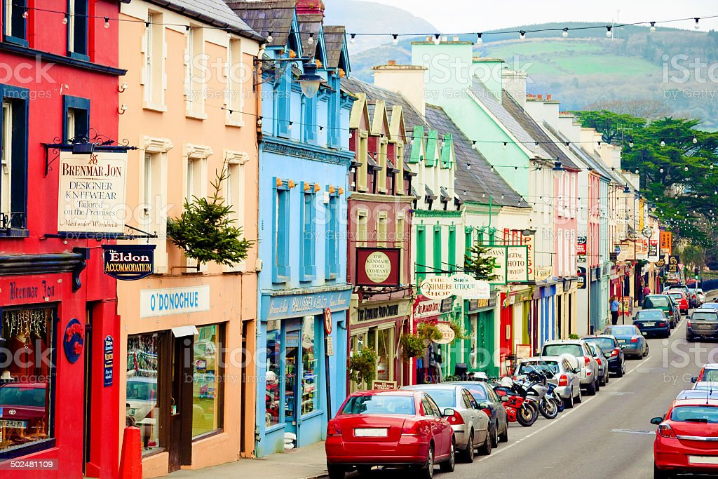 Kenmare, Ireland stock photo