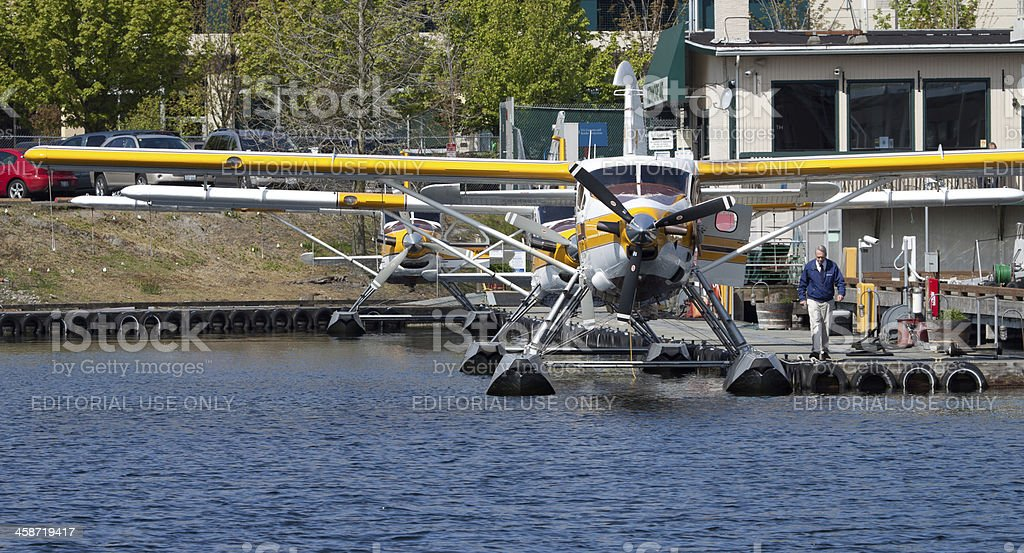 Kenmore Air Dock and Office stock photo