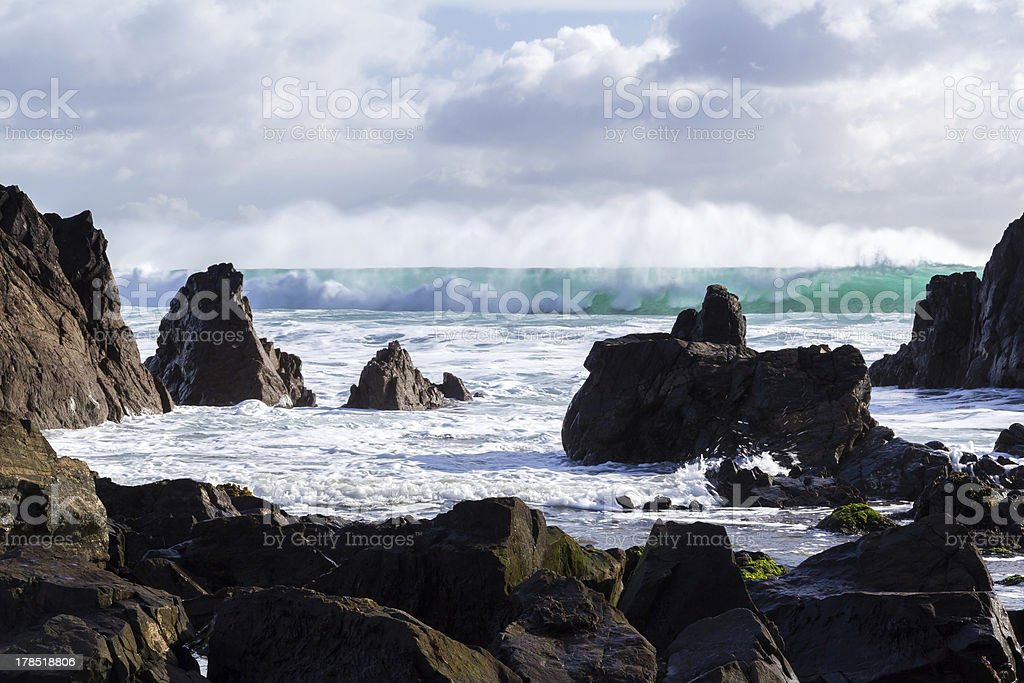 Kennack plage Cornwall photo libre de droits