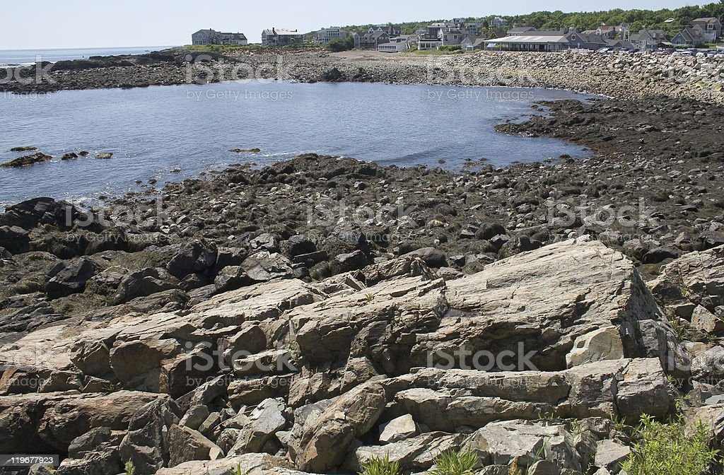 Kennebunkport Coast stock photo