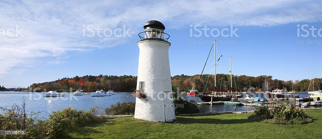 Kennebunkport Maine stock photo