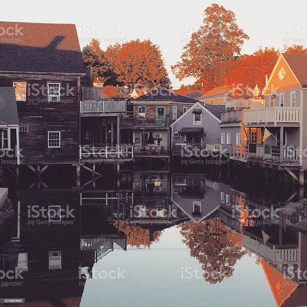 Kennebunkport, Maine stock photo