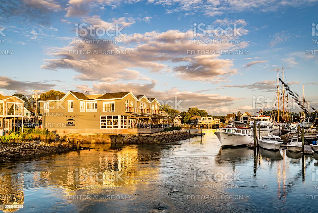 Kennebunkport, Maine, USA stock photo