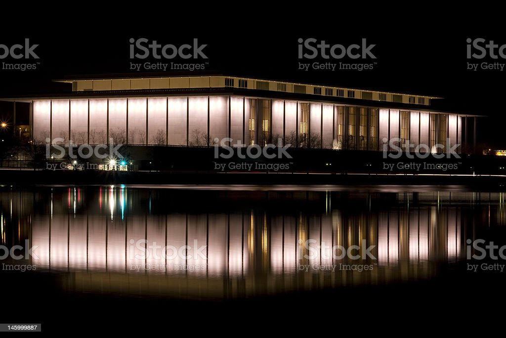 Kennedy Center royalty-free stock photo