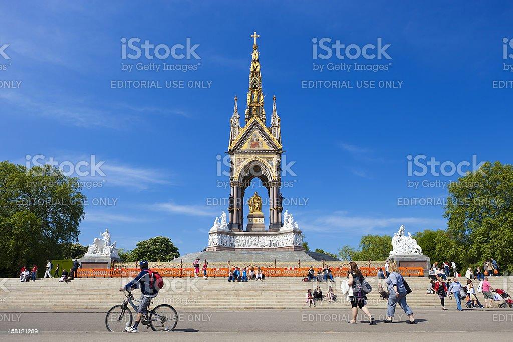 Kensington Gardens In London, England stock photo