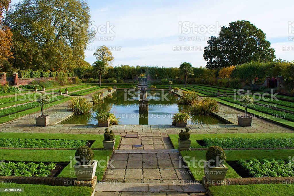 Kensington Gardens stock photo