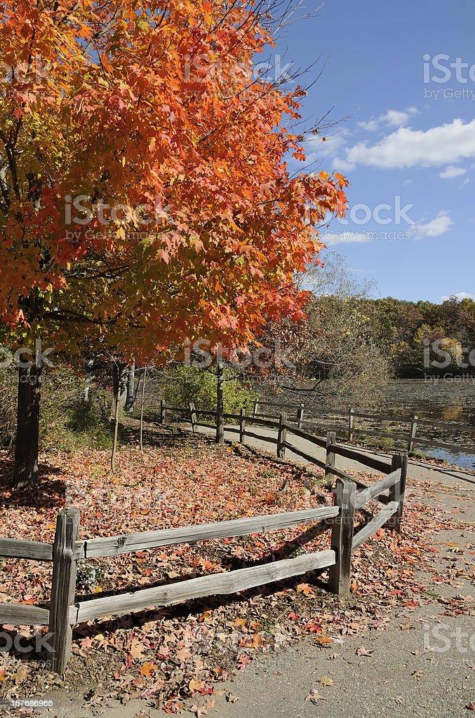 Kensington Metro Park, Michigan stock photo