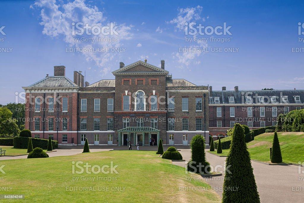 Kensington Palace, London, England. stock photo
