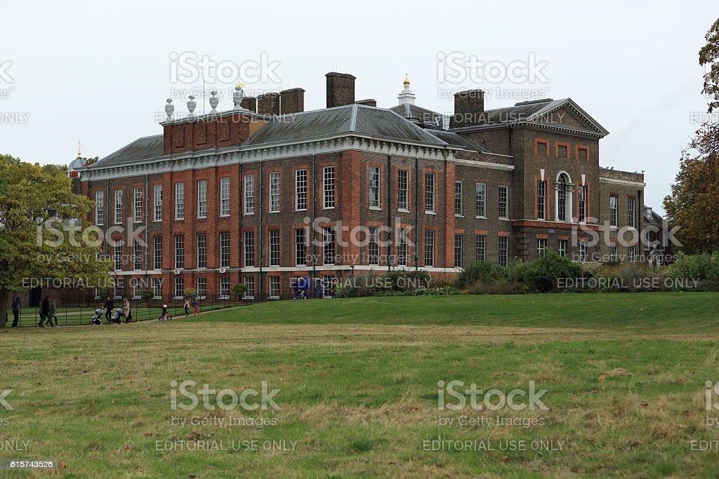 Kensington Palace stock photo