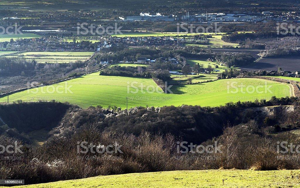 kent countryside uk green belt stock photo
