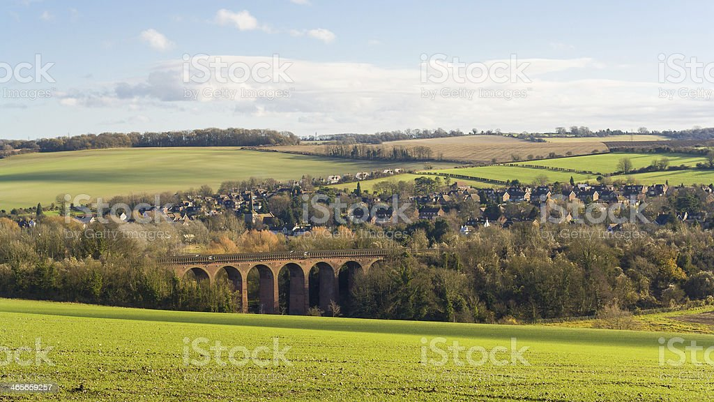 kent countryside uk stock photo