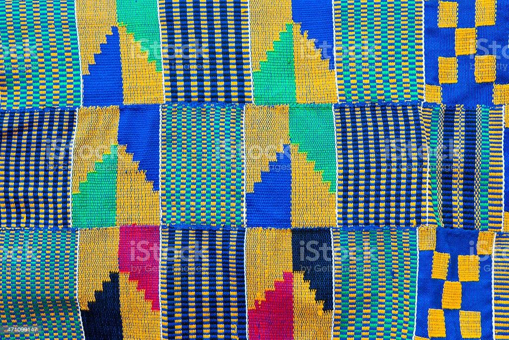 Kente Cloth royalty-free stock photo