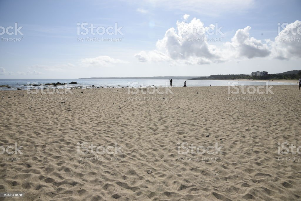 Kenting beach stock photo