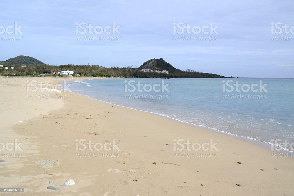 Kenting beach, Taiwan stock photo