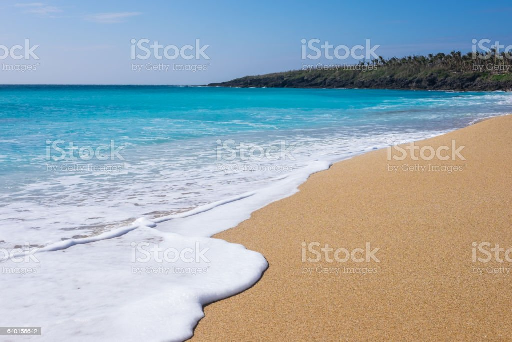Kenting Beach, Taiwan stock photo