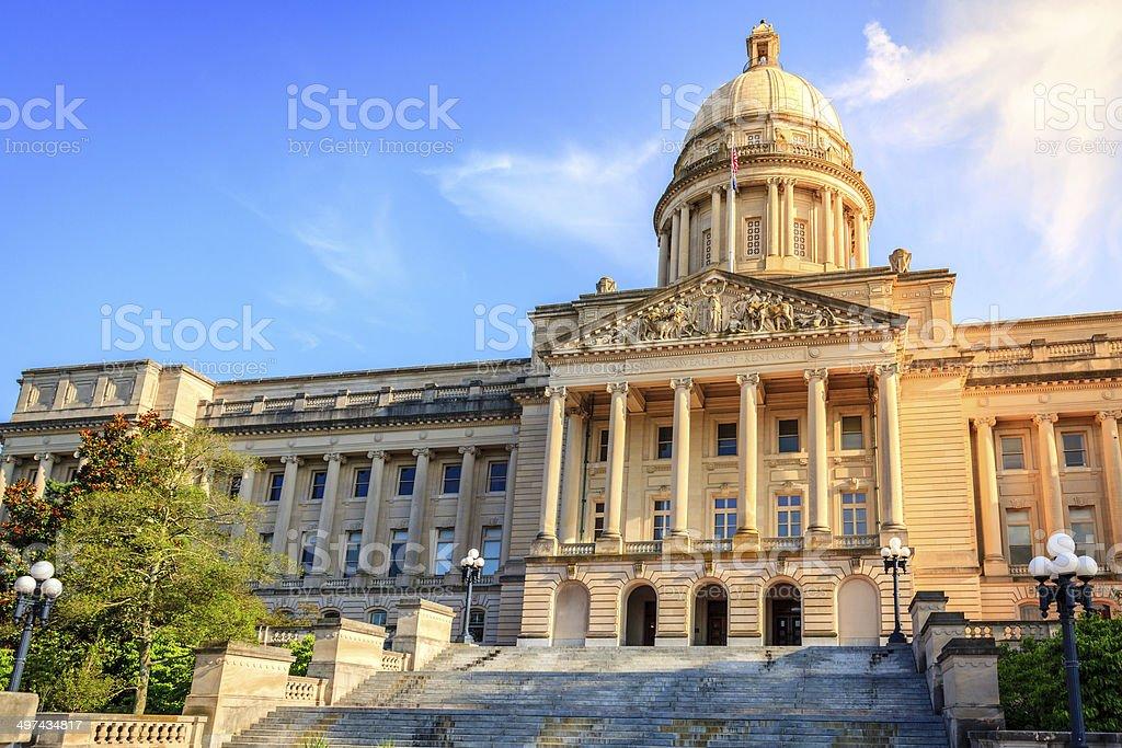 Kentucky Capitol royalty-free stock photo