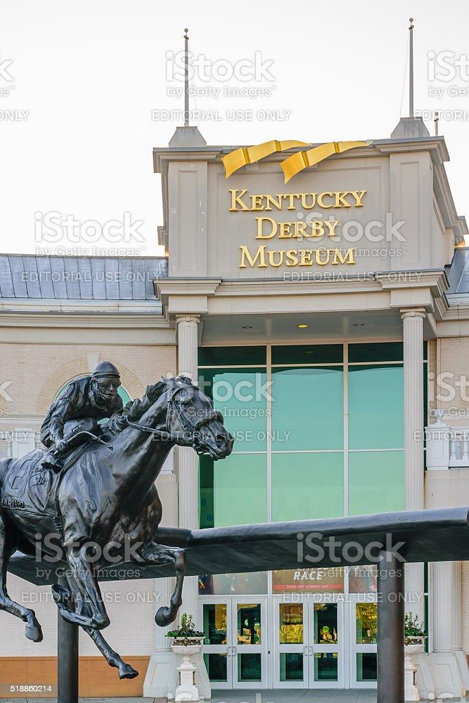 Kentucky Derby Museum stock photo