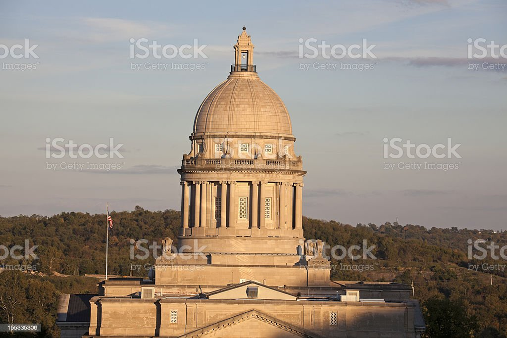 Kentucky State Capitol Building royalty-free stock photo