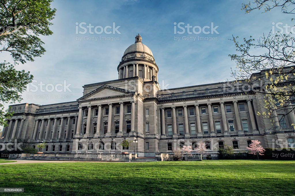 Kentucky State Capitol Building stock photo