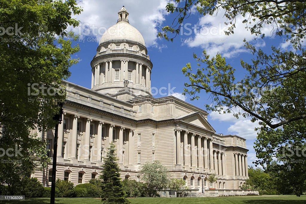 Kentucky Statehouse stock photo