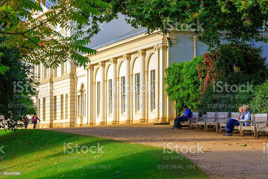 Kenwood House in Hampstead, London stock photo