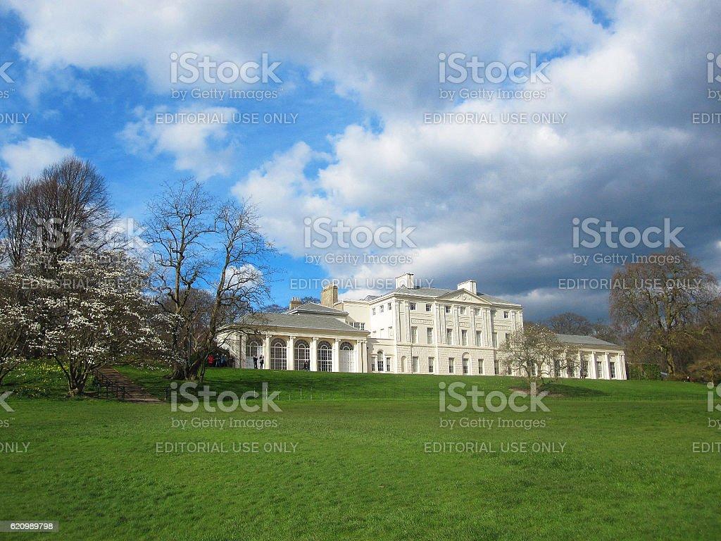 Kenwood House on Hampstead Heath in London stock photo