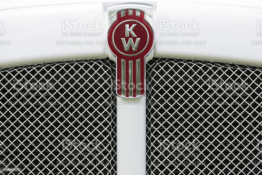 Kenworth truck logo royalty-free stock photo