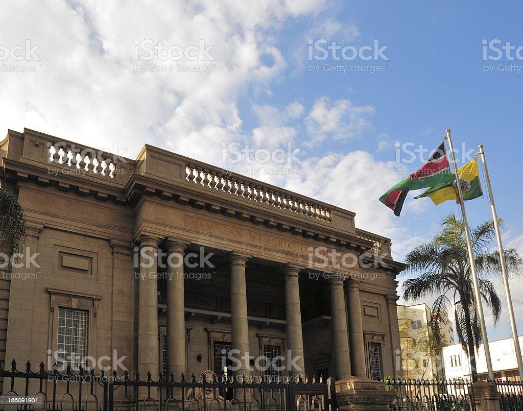 Kenya: Nairobi City Library stock photo
