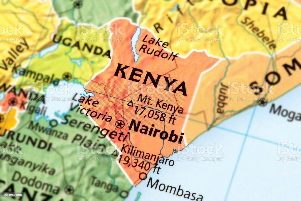 Kenya stock photo