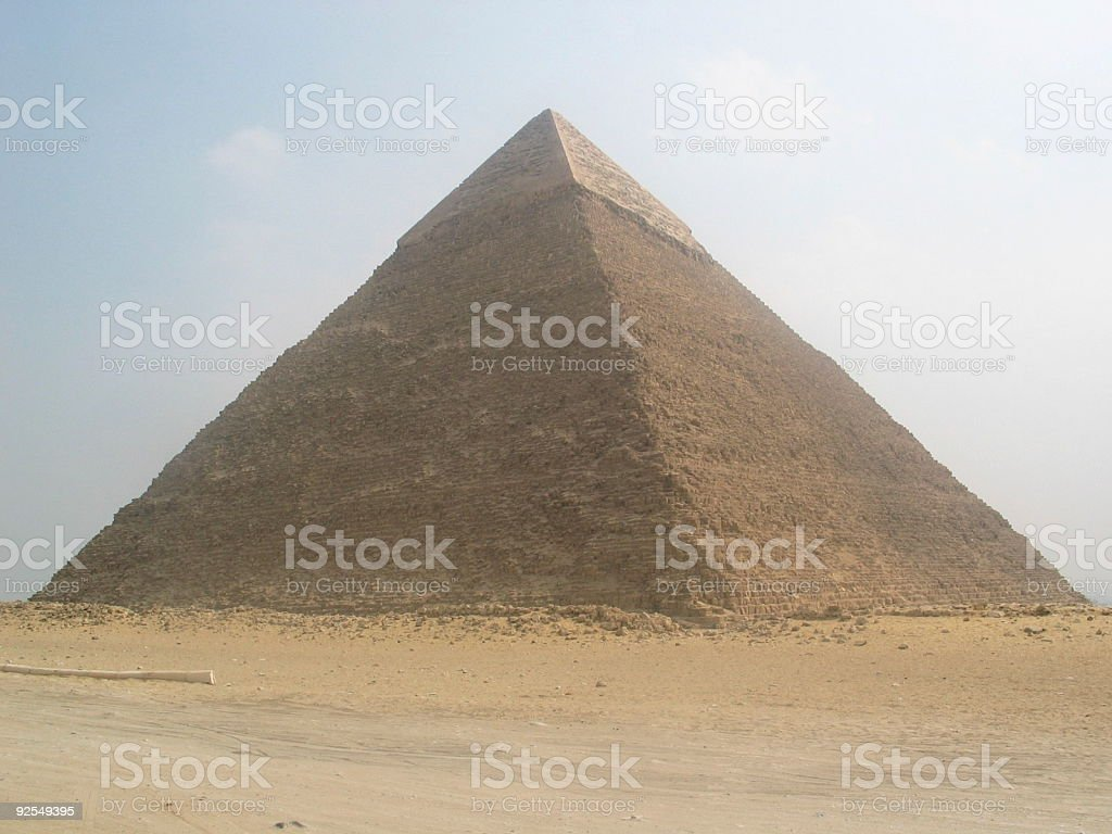 Kephren Pyramid royalty-free stock photo