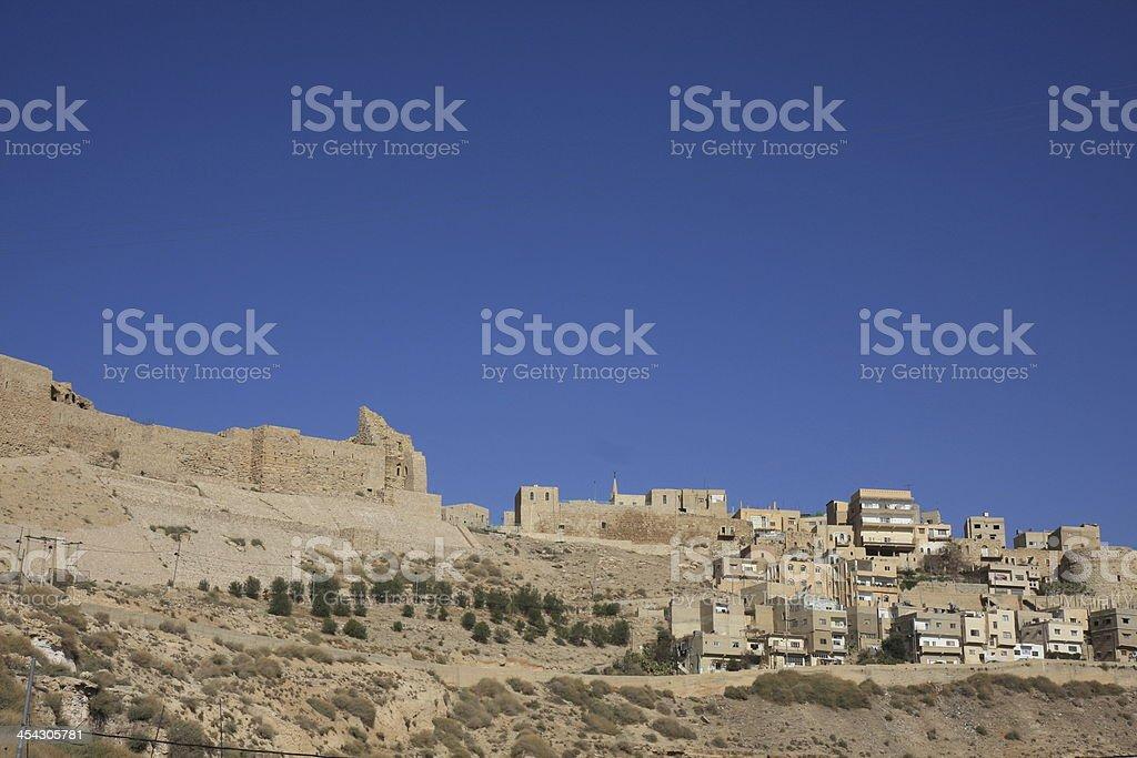 Kerak in Jordanien stock photo