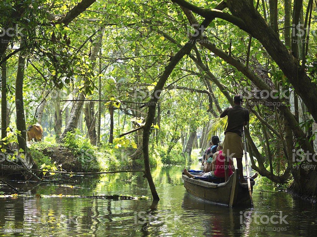 Kerala Chanel stock photo