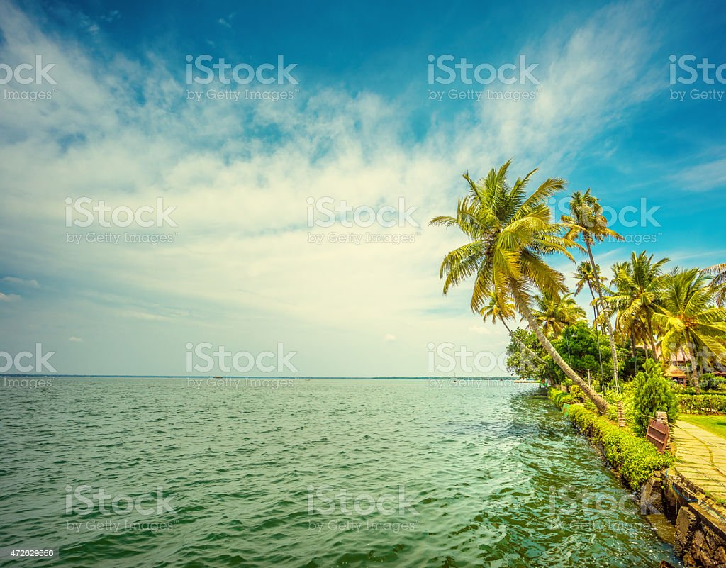 Kerala India stock photo