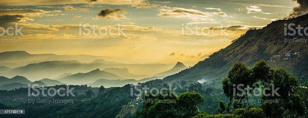 Kerala Mountains stock photo